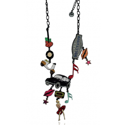 Lol Bijoux - Collier Hollywood 50's - Marylin - Cox Noire