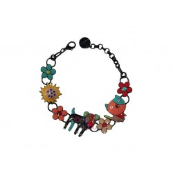Lol Bijoux - Bracelet Chien Patchy - Multicolore