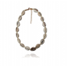 Mila and Stories - Collier Coquillages - Cauris Beige et Or
