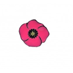 Lol Bijoux - Bague Coquelicot - Rose Hollywood