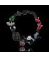 Bracelet panda, geisha, koï rouge, lol bijoux