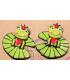 Boucles d'oreilles grenouilles